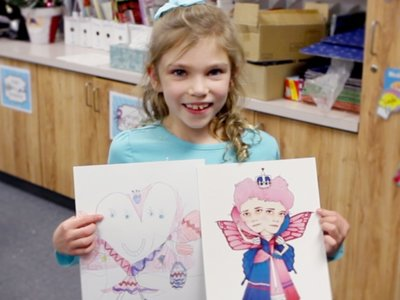 """Un proyecto de Kickstarter convierte los dibujos infantiles en """"obras de arte"""". La imagen de la semana"""