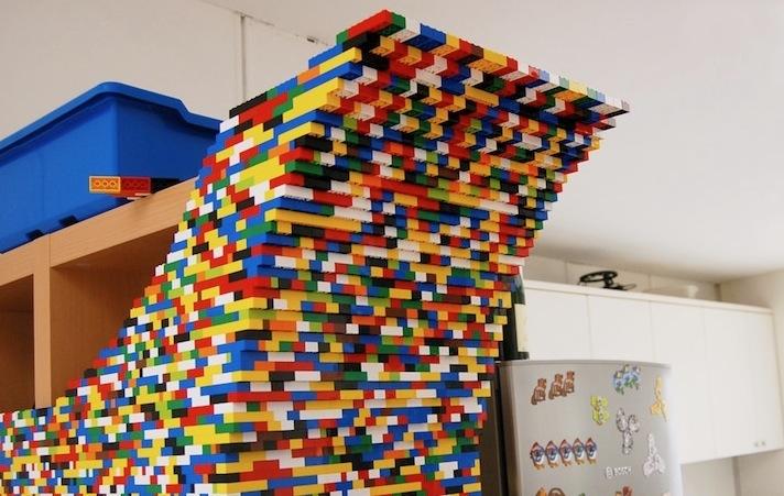 Foto de Separando espacios con un muro de lego (4/7)