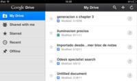 Google actualiza Google Drive para iOS, la aplicación adquiere mayores funcionalidades
