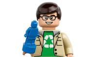 Los protagonistas de 'The Big Bang Theory' en versión LEGO