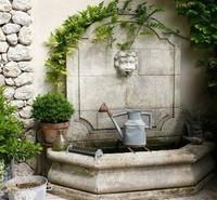 Si en invierno quiero una chimenea, en verano quiero una fuente. Cinco fuentes de ensueño