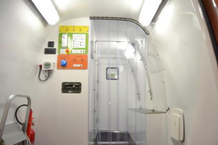 Interior furgoneta UME