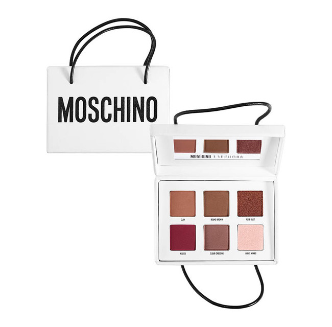 Moschino Sephora Shopping Bag Eyeshadow Palette