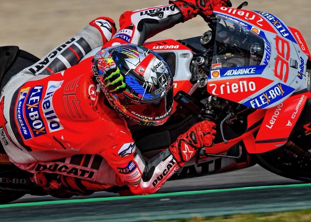 Jorge Lorenzo Gp Catalunya Motogp 2018