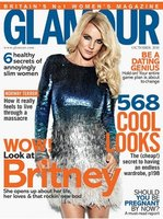 Britney Spears en la portada de Glamour UK: ¿te está dando un apretón, hija?