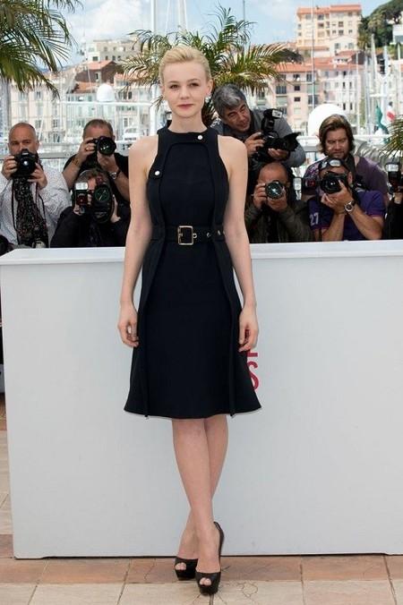 Carey Mulligan opta por la sencillez para acudir al Festival de Cannes 2013 por la mañana