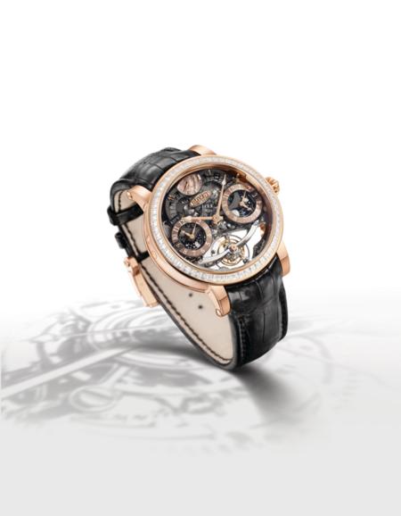 El reloj Récital 16 de Bovet, diseñado por Pascal Raffy para que además de flipante sea, sobre todo, útil