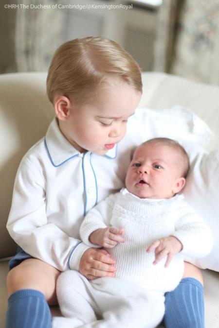 El Príncipe George y la Princesa Charlotte nos tienen a todos enamorados