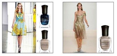 New York Fashion Week 2011: los esmaltes Deborah Lippmann elegidos por los diseñadores