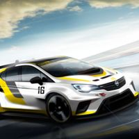 Opel Astra TCR: un nuevo Astra de carreras para el Salón de Frankfurt