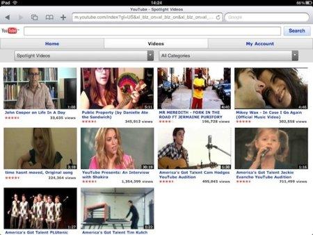 La web móvil de YouTube deja de dar soporte al reproductor de iOS
