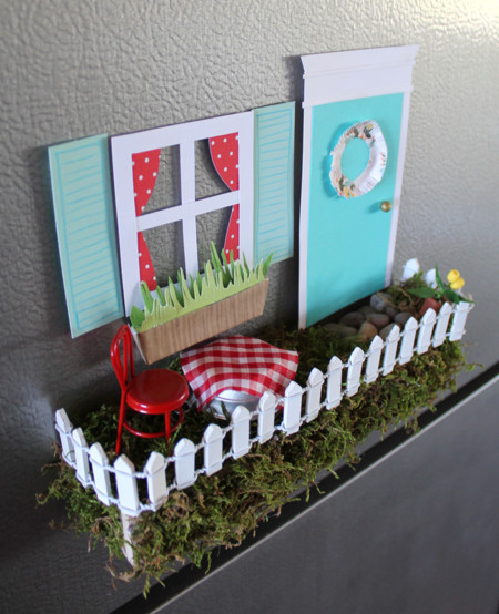 Fairy Garden Magnetic Window