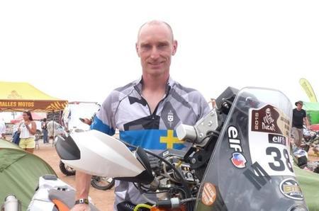 Thomas Berglund Etapa8 Dakar2015