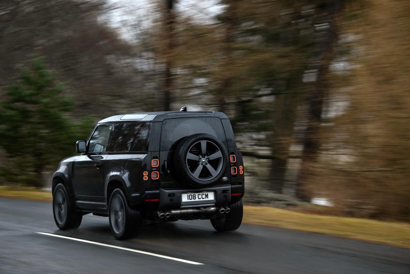 Foto de Land Rover Defender V8 (16/30)