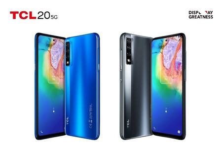 TCL 20 5G y TCL 20 SE: soporte HDR10 y conectividad 5G para la gama media de menos de 7,500 pesos que queremos ver en México