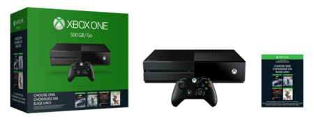 Xbox One Pack Elige Tu Juego