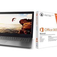 Lenovo Ideapad 320-15AST con Office 365, un interesante portátil por sólo 279 euros en la Red Night de MediaMarkt