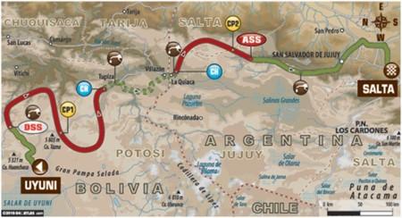 Mapa Etapa7 Dakar2016