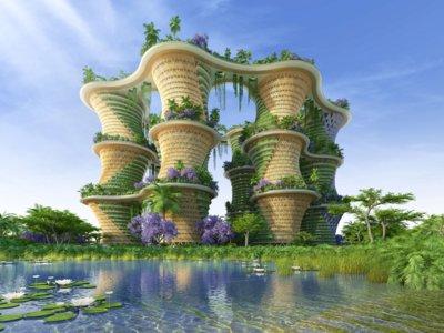 Una sorprendente ciudad vertical como solución al problema ambiental y de vivienda