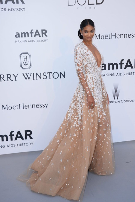 Chanel Iman Amfar 2015
