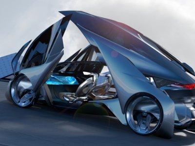 El Chevrolet-FNR es tan parecido a un Transformers que hasta se conduce solo