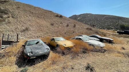 Porsche 298 Abandonados En California 6