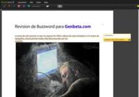 Adobe abre como beta pública su procesador de textos online Buzzword