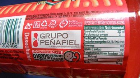No olvides la cantidad consumida al leer la etiqueta de un alimento