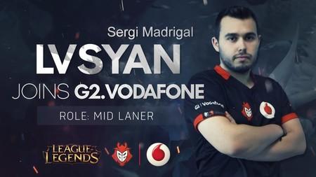 G2 Vodafone completa el galáctico fichaje de Lvsyan