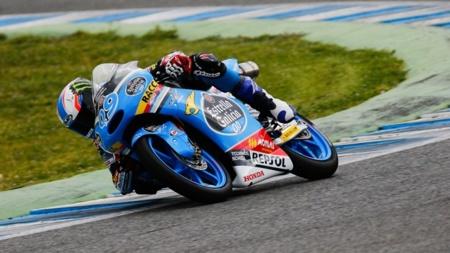 La lluvia arruina los tres días de entrenamientos de Moto3 y Moto2 en Jerez