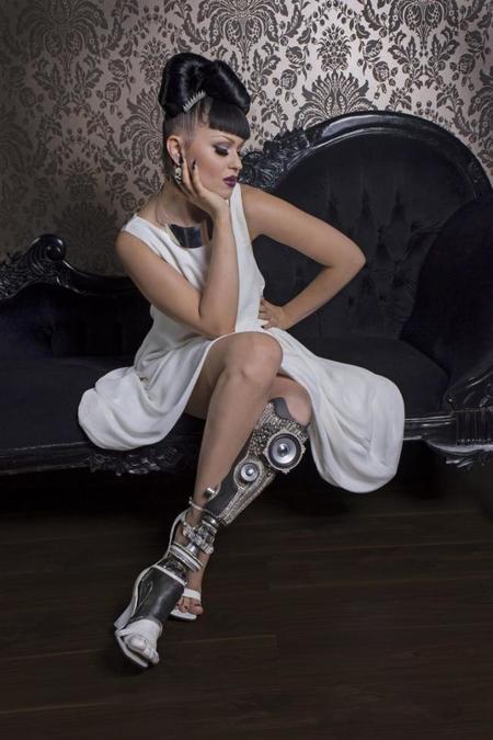 Viktoria Modesta: adiós a los cánones de belleza tradicionales