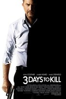 '3 Days to Kill', tráiler y cartel del thriller de acción con Kevin Costner