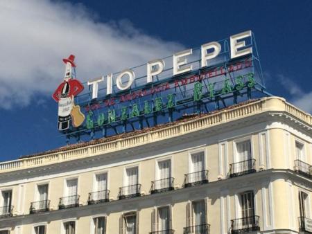 Nuevo Tío Pepe en Sol