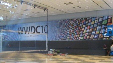 Primeras imágenes del Moscone Center con los carteles de la WWDC 2010