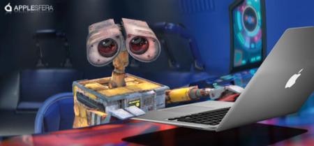 Pixar muestra su cariño a Apple en WALL•E
