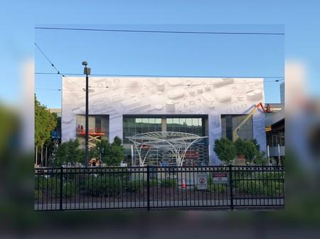 Primeras imágenes del McEnery Center, Apple comienza a decorarlo para la WWDC 2018