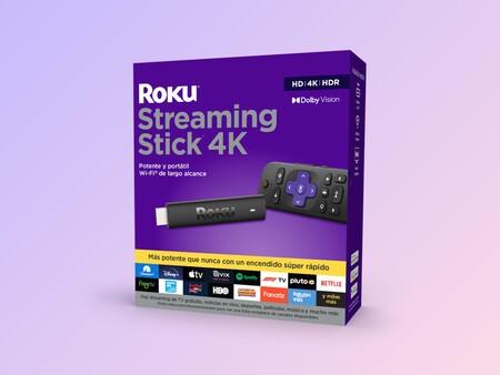 Roku Streaming Stick 4K llega a México, con control de voz para Netflix y Spotify como parte de ROKU OS 10.5