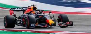 Max Verstappen controla a Lewis Hamilton en Austin y Fernando Alonso vuelve a desafiar a la FIA