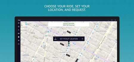 Uber lanza para Windows en PC y móviles la versión PWA de su popular plataforma para alquiler de vehículos