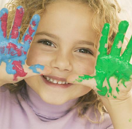 La dactilopintura o pintura de dedo