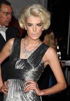 El look de Agyness Deyn en la Gala del Instituto de Moda Nueva York
