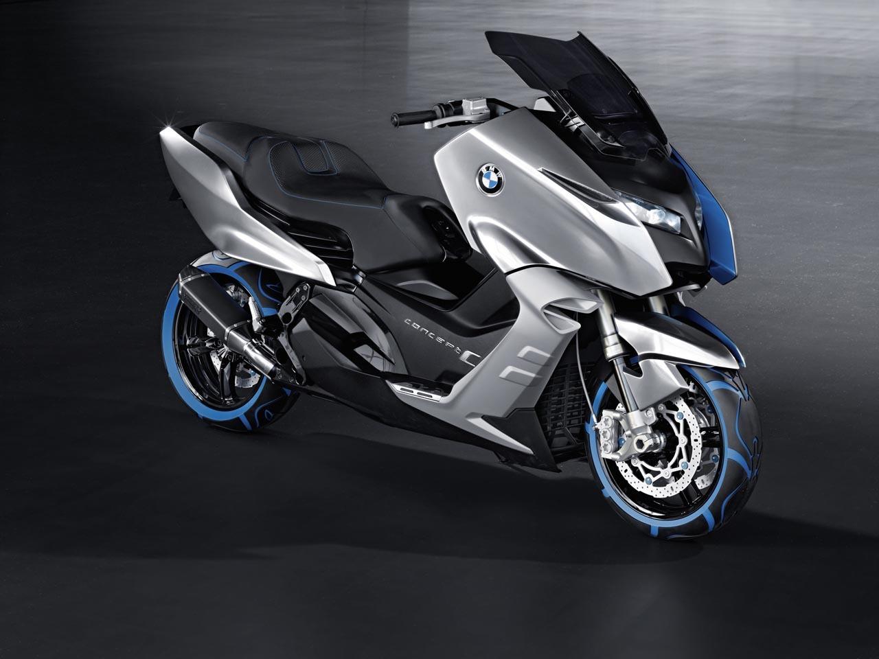 Foto de BMW Concept C Scooter, el Scooter del futuro según BMW (8/19)
