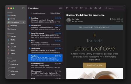 Mimestream, el cliente de Gmail listo para los Mac con chip M1: App de la semana