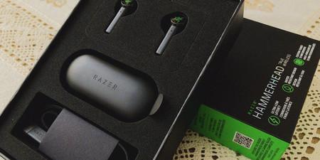 Empaque Razer Hammerhead True Wireless