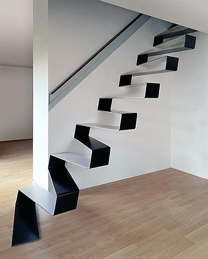 Cuando la escalera es una cinta continua