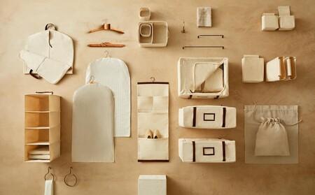 Zara Home tiene los organizadores ideales para un vestidor perfecto