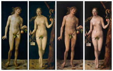 Adan y Eva antes y después