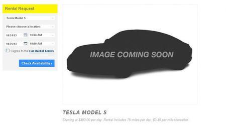 Hertz Tesla Model S