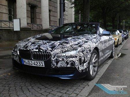 Nuevo BMW Serie 6, fotos espía desde Munich