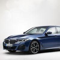 El nuevo BMW Serie 5 filtra su aspecto definitivo: más Serie 7 por delante, aunque sin la parrilla enorme